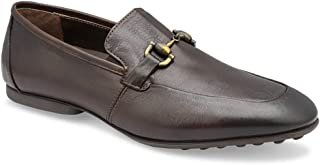 tresmode Men's Toni Bit Formal Leather Loafers