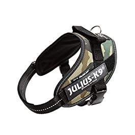 Julius-K9, 16IDC-C-M, IDC Powerharness, dog harness, Size: S/Mini, Camouflage