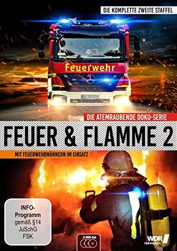 Feuer & Flamme: Mit Feuerwehrmännern im Einsatz - Die komplette zweite Staffel [3 DVDs]