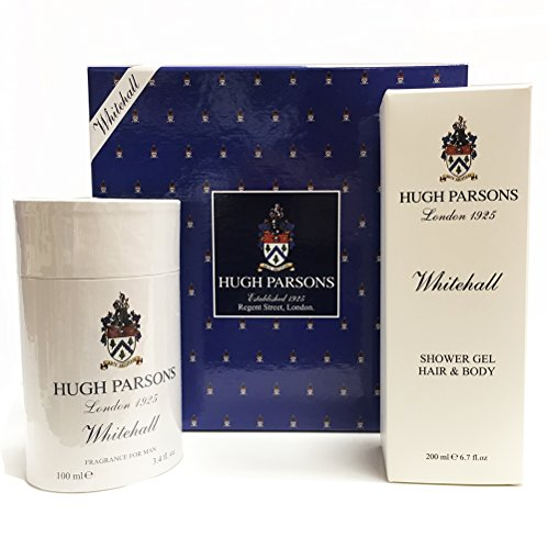 HUGH PARSONS LONDON 1925 GIFT SET WHITEHALL FRAGRANCE FOR MAN 100ML SPRAY EDP + SHOWER GEL 200ML