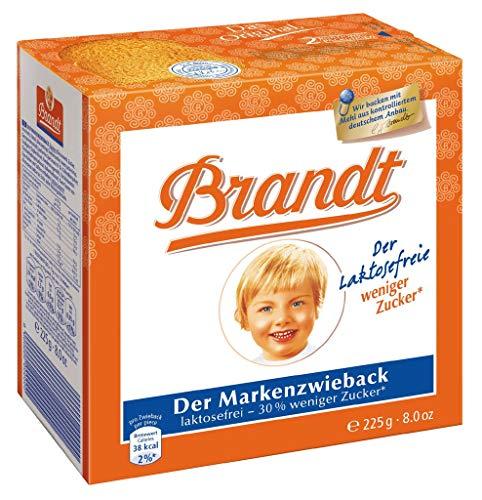 Brandt Zwieback Laktosefrei 225g