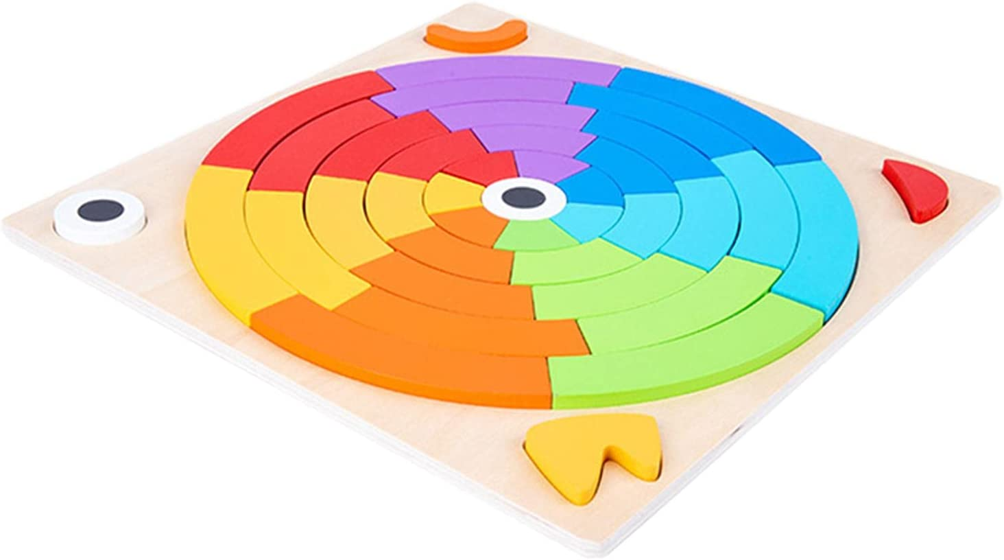 Rainbow Stacking Toys Wooden Montessori ! Super beauty product restock quality top! Stacker E Purchase