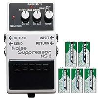 BOSS コンパクトエフェクター 原音には影響を与えずノイズを一掃。 +9Vマンガン電池5個付き NS-2(Noise Suppressor)