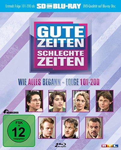 Gute Zeiten, schlechte Zeiten SD on Blu-ray Vol. 2: Folge 101-200 (zum 25-jährigen Jubiläum) [2 DVDs] [Alemania]