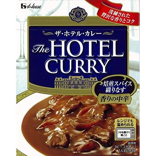 ハウス食品 ザ・ホテル・カレー 香りの中辛 180g