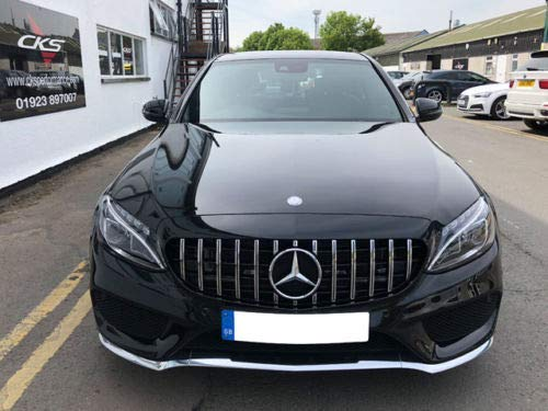 AMG C63 GTS Stil Kühlergrill W205 C205 C-Klasse Without 360 Kamera bis Juni 2018, This Will Not Fit The C63