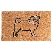 Onlymat Pug Coir Doormat