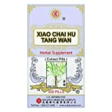 Xiao Chai Hu Tang Wan Health Herbal Supplement for Respiratory, Lung Health, and Immune Support (Bupleurum Root, Baikal Skullcap Root) (200 Pills) (1 Bottle) (Solstice)