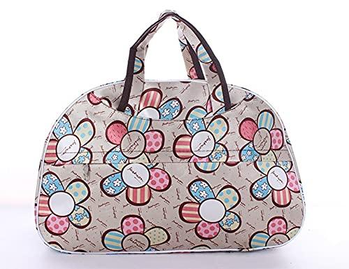 Bolsa de Viaje Mujeres de Gran Capacidad para Hombro portátil Bolsa de Lona de Mano Bolsa de Equipaje de Ropa Organizador Glamour Glamour Bolsas (Color : Black, Size : 16 * 41 * 28cm)