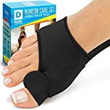 Orthopedic Bunion Splint - Bunion Corrector - Sleeve for Hallux Valgus Bunion Pain Relief - Non-Surgical Hallux Valgus Correction - Hammer Toe Straightener - Day Night Support