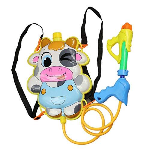 KunmniZ verano niños dibujos animados mochila Squirt agua juguetes playa piscina agua juguete niños interactivo al aire libre juego niños regalo