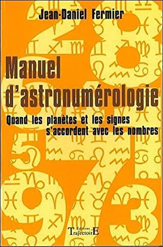 Manuel d'astronumérologie
