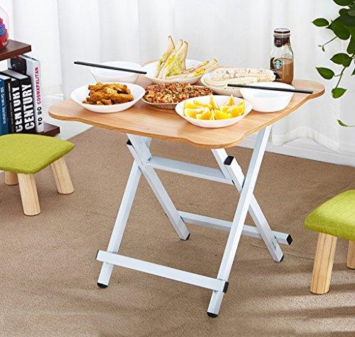LTM-MPZ Home klaptafel Eettafel Eenvoudige Outdoor 2 Personen 4 Personen Draagbare Tafel 60 * 60 * 75cm