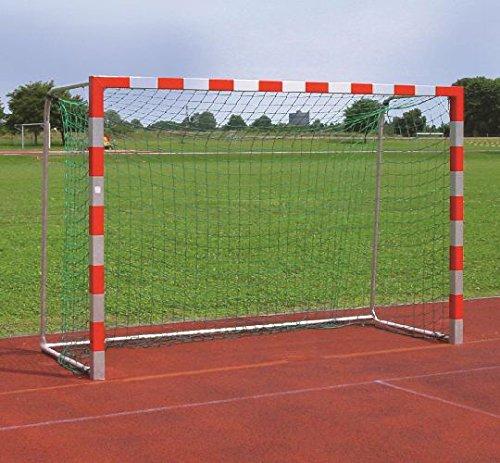 Tornetz - Fussballnetz - Handballnetz 'PROFI' 3 x 2 m - 4mm - weiss