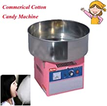 Hanchen FY-M3 Electric Cotton Candy Machine Commercial Use Cotton Floss Machine for Kids with English Instructions (240V)