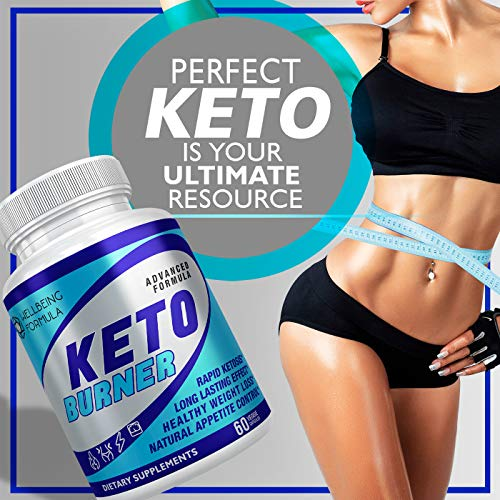 Keto Diet Pills-Natural Exogenous Ketones Supplement-Weight Loss Appetite Suppressant Keto Diet Pills That Work Fast for Women and Men-Perfect Keto Fat Burner-Metabolism Booster for Fast Weight Loss 5