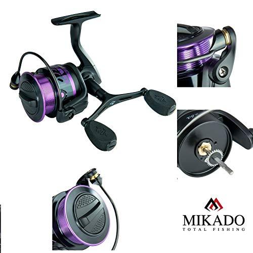Mikado UV 3008FD Feederrolle Matchrolle Angelrolle 291g / 6.0:1 / Lager 7+1