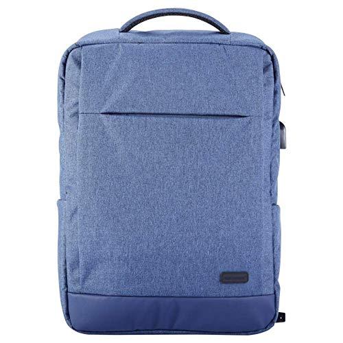 ZXL rugzak voor heren – reistas voor business – laptoptas, blauw/grijs/zwart 46cm*32cm*10cm random color