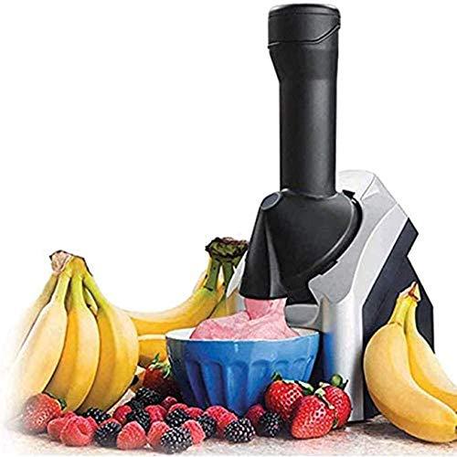 JDYDDSK Home Máquina de Helado Suave de Fruit, Nueva máquina de Helado Mejorada 2021 Máquina de Helado casera portátil para Hacer deliciosos sorbetes de Helado y máquina de Yogur Helado