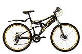 KS Cycling Bliss VTT Tout Suspendu Noir 26' 47 cm