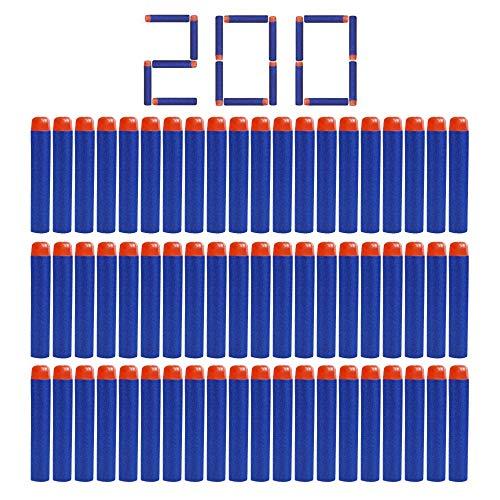 Camkey 200 Nerf N Strike Blaster Kid Toy Gun Compatible Darts Bullets