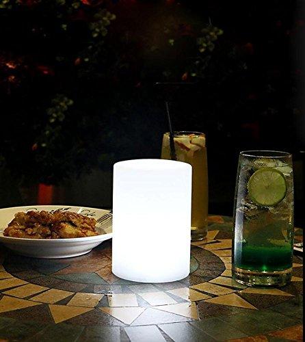 QMMCK creatieve wandlamp, waterdicht, afstandsbediening, 7 kleuren, robuust en decoratief.