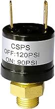 Heavy Duty 90-120 PSI Air Compressor Pressure Control Switch Valve Air Horn Pressure Switch Black
