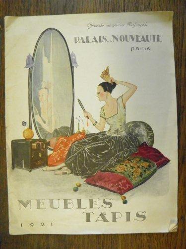 Grands magasins Dufayel - Paris - Palais de la nouveauté - Meubles Tapis 1921