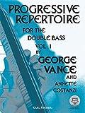 Progressive Repertoire for the Double Bass, Vol. 1 (Book & MP3) (CONTREBASSE)