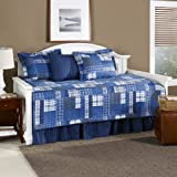 Eddie Bauer Eastmont 5-Piece Quilted Daybed Set, Blue, Twin (200394)