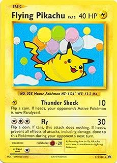 Pokemon - Flying Pikachu (110/108) - XY Evolutions