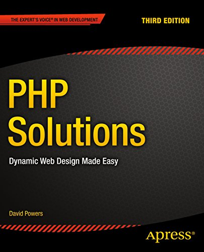 Php Solutions Dynamic Web Design Made Easy 3 Powers David Ebook Amazon Com