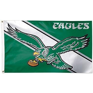 NFL Philadelphia Eagles 04110115 Deluxe Flag, 3' x 5'
