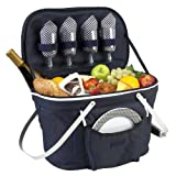 Best Picnic Baskets - Picnic at Ascot Patented Collapsible Insulated Picnic Basket Review