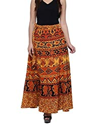 sunrise paridhan Womens Cotton Wrap Around (Multicolour, Free Size)