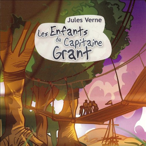 Les enfants du capitaine Grant  audiobook cover art