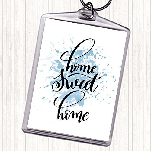 Home Sweet Home Inspirationele Citaat Tas Sleutelhanger Sleutelhanger