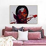 QWESFX Kunst Leinwand Malerei Wohnzimmer Home Decor Mit Spinne Leinwand Malerei Poster und Wandbild Kunst Bild E 60x120cm