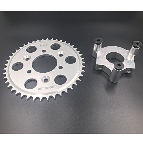 Rear Hub Adapter 1.5' and 44T Sprocket for 2 Stroke Engine Kit
