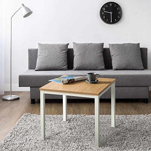 Zinus Dane Modern Studio Collection Soho End Table, White