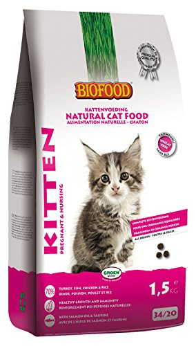 Biofood - Croquettes chaton 1.5kg