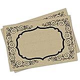 Best Placemats - Kraft Paper Placemats - 24 Count - Festive Review
