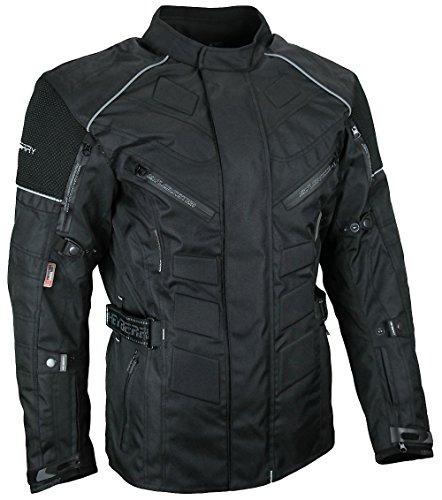 Herren Touren Motorradjacke Textil Heyberry schwarz Gr. L - 3