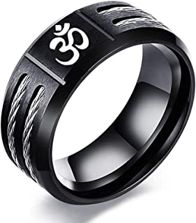 Mens necklace Hindoo Jewelry Ohm Hindu Buddhist Aum Om Pendant Necklace Hinduism Yoga India Outdoor Glow In The Dark Night Luminous For Yours