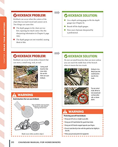 Chainsaw Manual for Homeowners, Revised Edition: Learn to Safely Use Your Saw to Trim Trees, Cut Firewood, and Fell Trees (Fox Chapel Publishing) 12 Chainsaw Tasks with Step-by-Step Color Photos