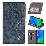 Alcatel 3X 2020 Premium Leather Wallet Case [Card Slots]