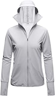 Ladies Waist Sunscreen Clothing UPF50 Elastic Breathable Lace-Up Finger Buckle Sunscreen Jacket Sunscreen Clothing