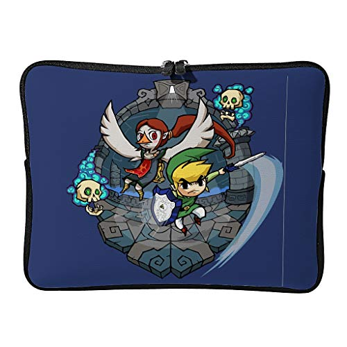 Zelda Fly Laptop Bags Modern Scratch-Resistant - Game Lovers Tablet Briefcase Suitable for Outdoor Use in 5 Sizes