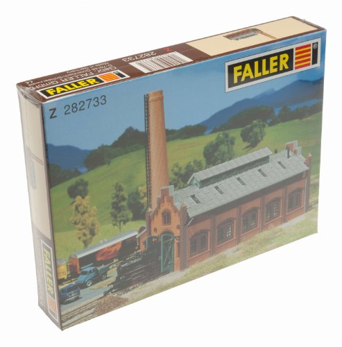 Faller 282733 Engine Repair Shed Z Scale Building Kit