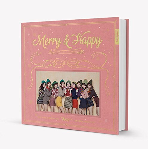 TWICE - Merry & Happy [Happy ver.] CD+Photobook+Photocard+Sticker+Free GIft